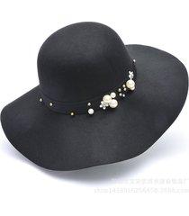 moda mujer sombreros británicos retro modelos salvajes sombreros damas
