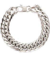 john titanium curb chain bracelet