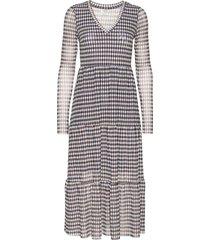 julianne jurk knielengte blauw baum und pferdgarten
