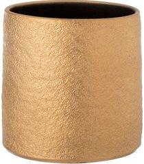doniczka osłonka gatsby złota 25x24cm