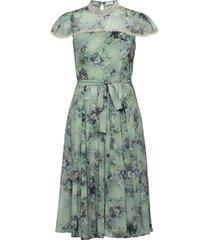 liv dress knälång klänning grön ida sjöstedt