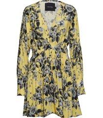 alameda mini dress korte jurk geel raiine