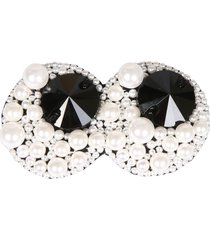 anya hindmarch eyes brooch with pearls