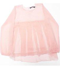 blusa  rosa mapamondo sorina