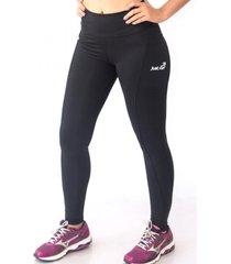 calça legging de alta compressão justrun sprint preta