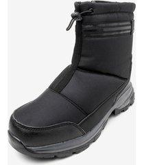 bota impermeable bigwarm black chancleta