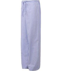 calça avulsa de pijama masculino presidente listrado azul - ca272 - masculino