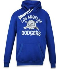 moletom canguru fechado los angeles dodgers mlb new era masculino