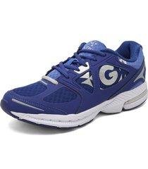 zapatillas golty active track - azul