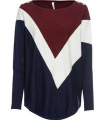 maglione stile poncho (viola) - bodyflirt boutique