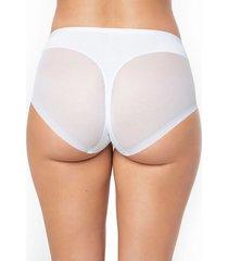 panty panty control suave blanco leonisa 012657