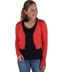 sweater spandex rojo alexandra cid