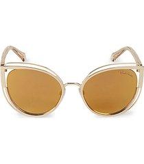 56mm cat eye sunglasses