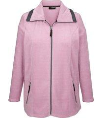 fleece vest miamoda roze