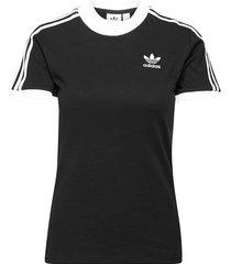 adicolor classics 3-stripes tee w t-shirts & tops short-sleeved svart adidas originals