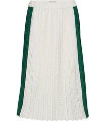 conneli knälång kjol grön minimum