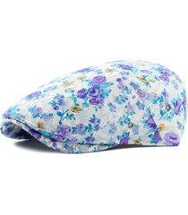 cappello di berreto del modello del fiore del merletto all'aperto casual confortevole forward cap per le donne