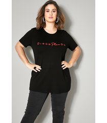 shirt sara lindholm zwart::rood