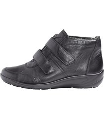 skor med kardborreband semler svart