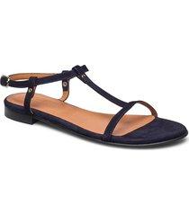 sandals 4902 shoes summer shoes flat sandals svart billi bi
