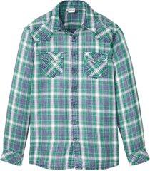 camicia a maniche lunghe (blu) - john baner jeanswear