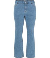 flare jeans med strass