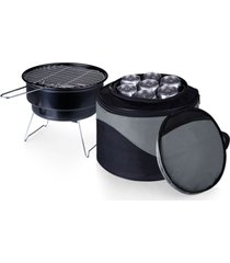 oniva by picnic time caliente portable charcoal grill & cooler tote