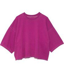 fondly sweatshirt in raspberry