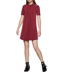 crewneck t-shirt dress