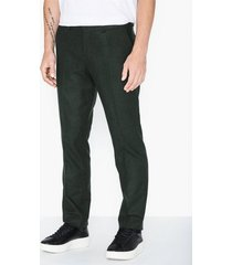 selected homme slhslim-myloiver green trs b noos byxor mörk grön