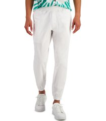 inc men's cropped textured ripstop pants, created for macy's