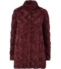 fuskpäls vmcurl high neck faux fur jacket
