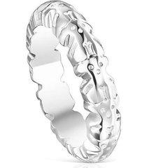 anillo tous straight  012725501 plateado