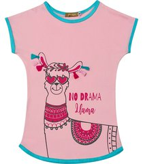 camisola tie dye de malha douvelin rosa - azul/rosa - menina - algodã£o - dafiti