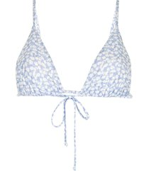 sir. anais string triangle bikini - blue