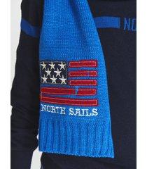 graphic logo scarf