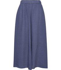 woven skirts knälång kjol blå marc o'polo