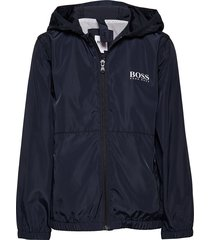 windbreaker outerwear jackets & coats windbreaker blauw boss