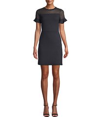 roseia textured sheath dress