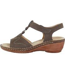 sandaletter ara mörkgrå