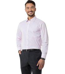 camisa formal print spandex blanco arrow