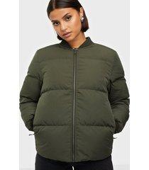 selected femme slfdavy ls down jacket w bomberjackor