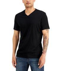 alfani men's travel stretch v-neck t-shirt, created for macy's