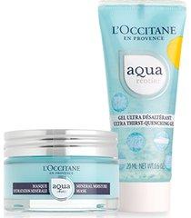 l'occitane rotina facial gel aqua réotier