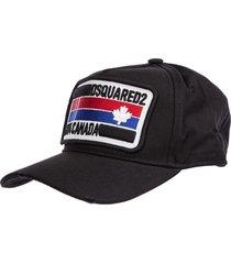 dsquared2 skater baseball cap