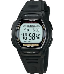 reloj casio lw201-1avdf negro resina
