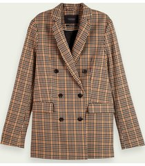 scotch & soda langere double-breasted blazer