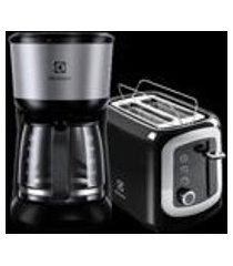 kit cafeteira love your day 30 cafezinhos + torradeira love your day (cmm20)+(tom10) 220v