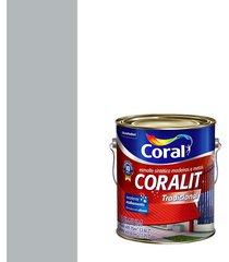 esmalte sintético acetinado coralit platina 3,6l - coral - coral