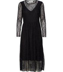 alanna jurk knielengte zwart minimum